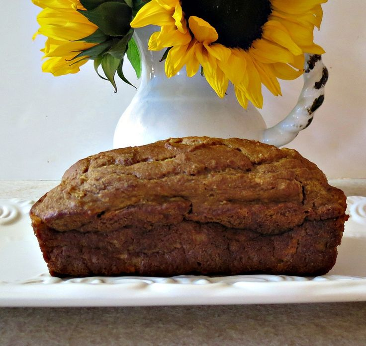Pumpkin Apple Bread - A moist, healthy quick bread made with pumpkin and apples.