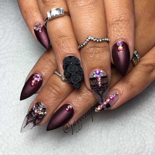 Pro Nail Designs: 72 Best Nails Images On Pinterest