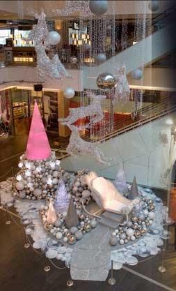 Westfield Bondi Junction Chas Clarkson - Christmas Concepts