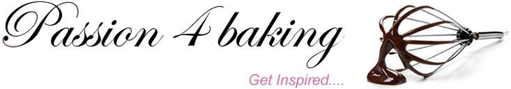Passion 4 baking - Jeg blogger om min passion for baking og matlaging og allt det spennende man kan finne på i kjøkkenet med kaker, cupcakes...