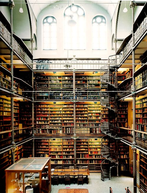 A bookworm's dream. Rijksmuseum Research Library, Amsterdam.