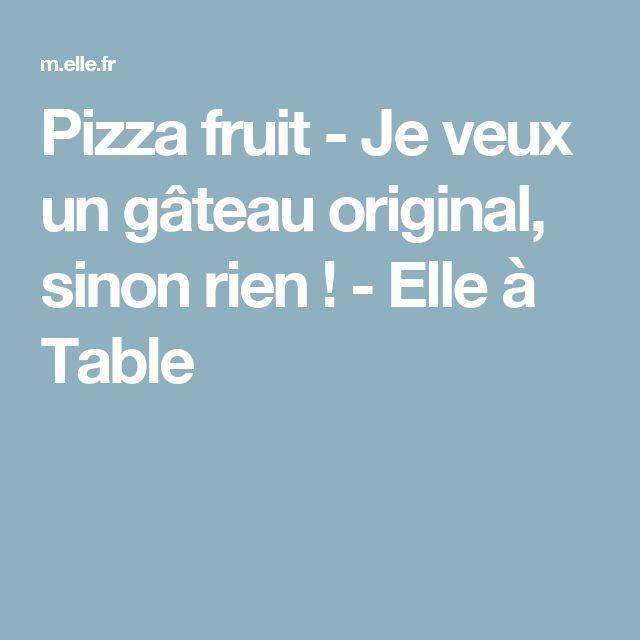 Gateau fruit original