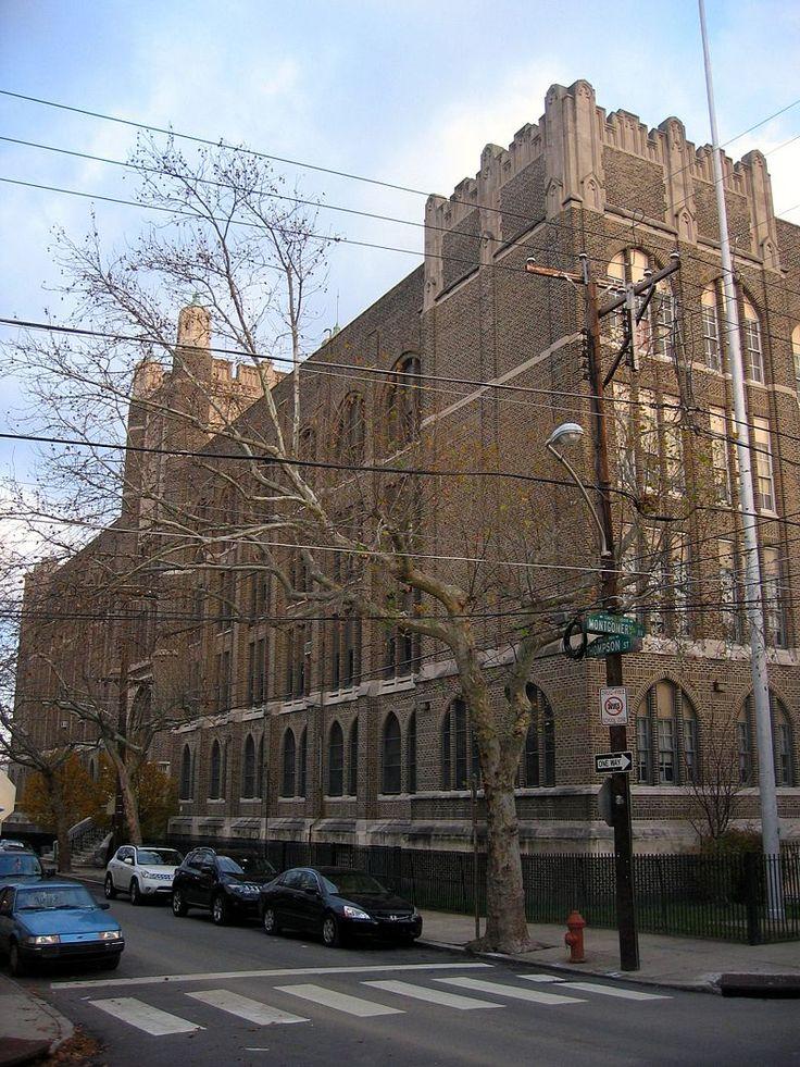 Penn Treaty Junior High School in Northeast Philadelphia, Pennsylvania.