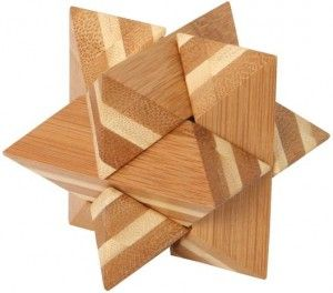 Bamboo Puzzle Star MiMi łamigłówka dla kazdego