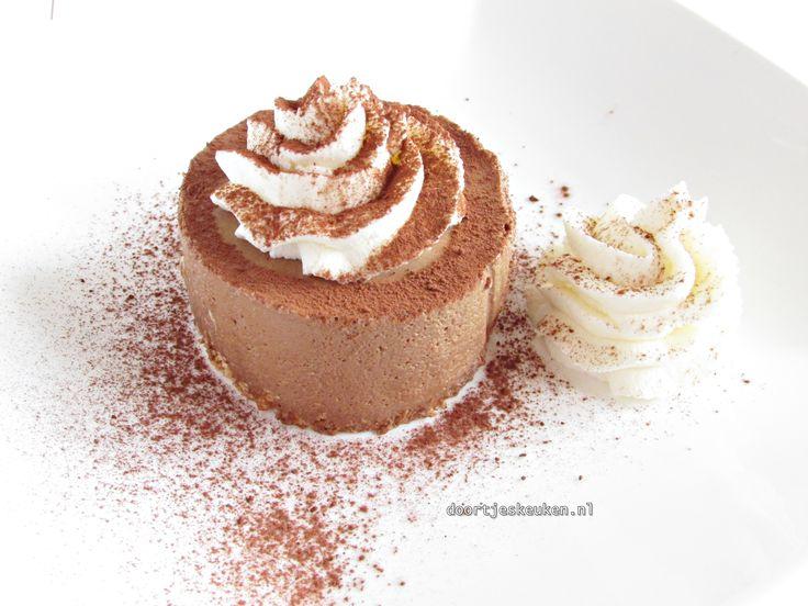 chocoladebavarois als overheerlijk luxe dessert