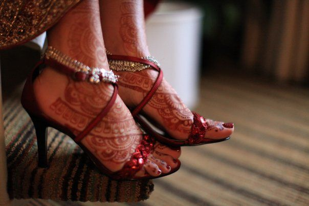 Mehndi Bridal Shoes : Best images about mehndi weddings on pinterest