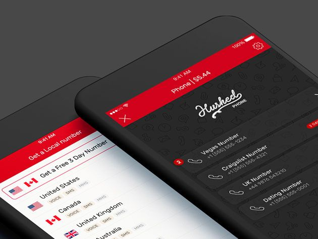 Hushed Private Phone Line Lifetime Subscription For 25 Https Onlylifetimedeals Com Deal Hushed Private Phone Lin Real Phone Real Phone Numbers Real Numbers