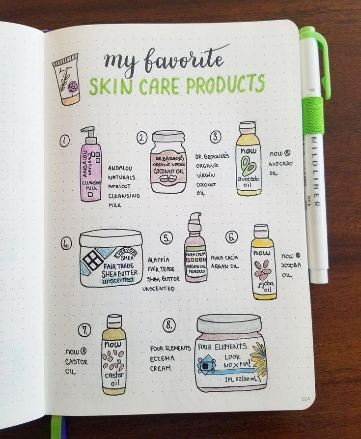Erstellen Sie eine gesunde Hautpflege-Routine mit diesen Super-Easy-Tipps + My Eczema Story – Bullet Journal