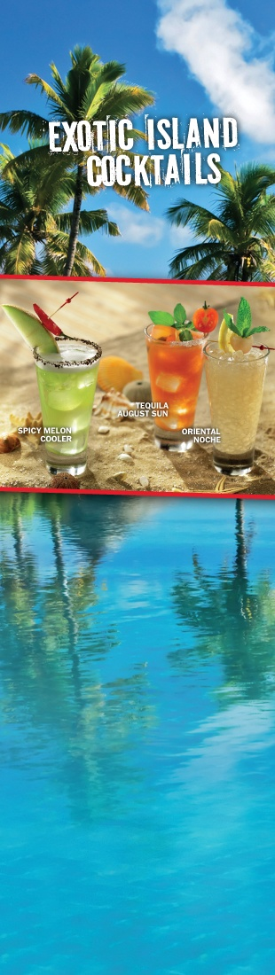 EXOTIC ISLAND COCKTAILS @T.G.I.Friday's