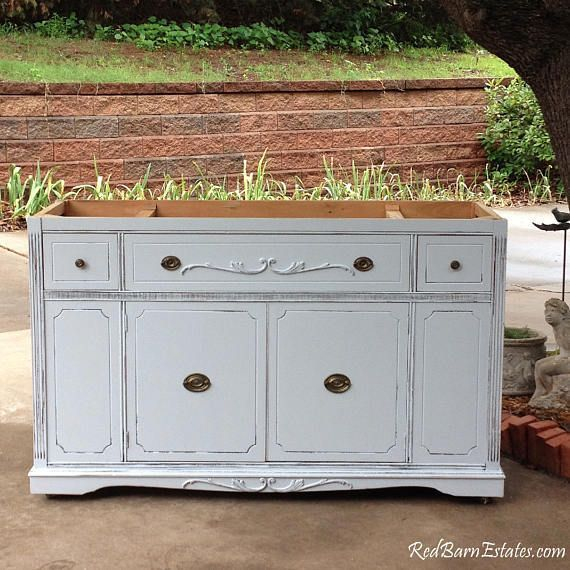 Bathroom Vanity For Double Or Single Sink We Custom Convert From Antique Dresser Shabby Chic Bathroom Decor Shabby Chic Dresser Shabby Chic Bathroom