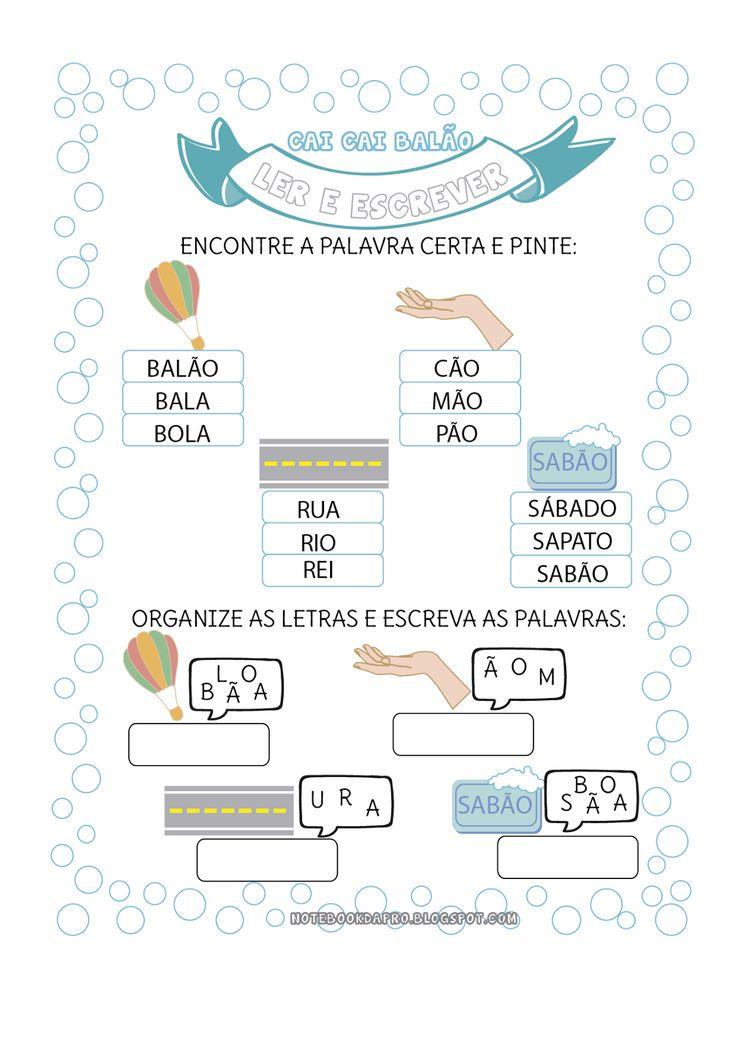 Atividades para reconhecimento e construção das palavras-chaves da temática em foco.        Imagens Freepik