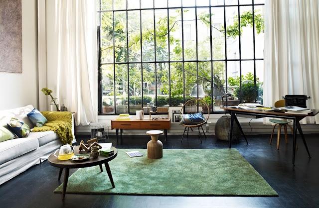Living Roomsfamili, Decor Ideas, Green Carpets, Livingroom, Interiors Design, Spirit, House Room, Windows Shades, Inspiration Interiors