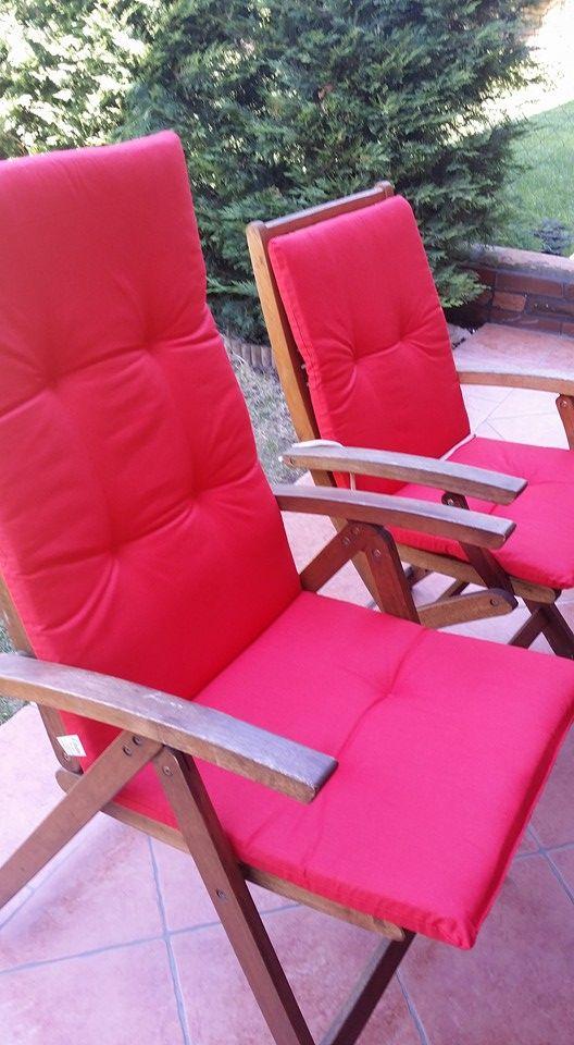 Exklusive Gartenmobel Karlsruhe : Hochlehner Auflage  Niedriglehner Auflage  Simply Red  Holz