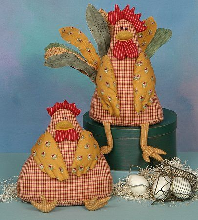 Google images of patterns to sew roosters or hens | pride of the hen house 10 rooster 9 hen 3 chicks # ph97 $ 7 00