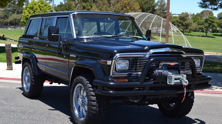 1984 Jeep Grand Wagoneer Restored by WCC for Arnold Schwarzenegger presented as lot F207 at Monterey, CA