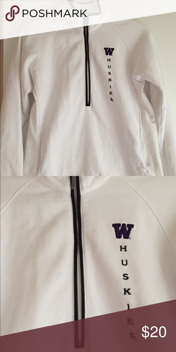 University of Washington Sweatshirt  EUC. Maybe worn once.  Size Small.  From UW Bookstore  Jackets & Coats
