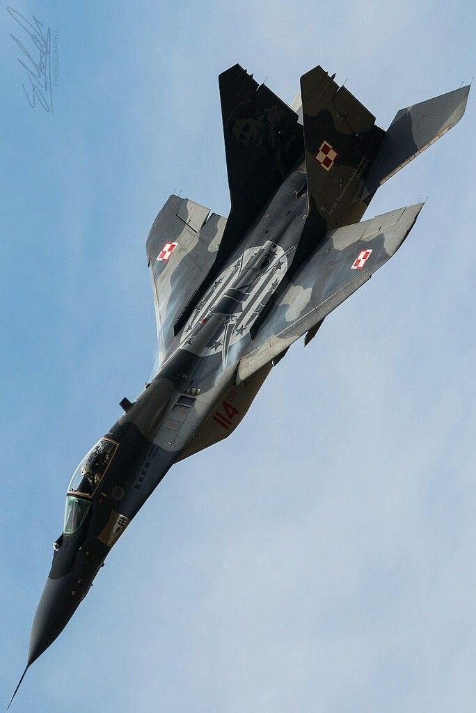 Polish Air Force Mig ~29 A                                                                                                                                                                                 Mais