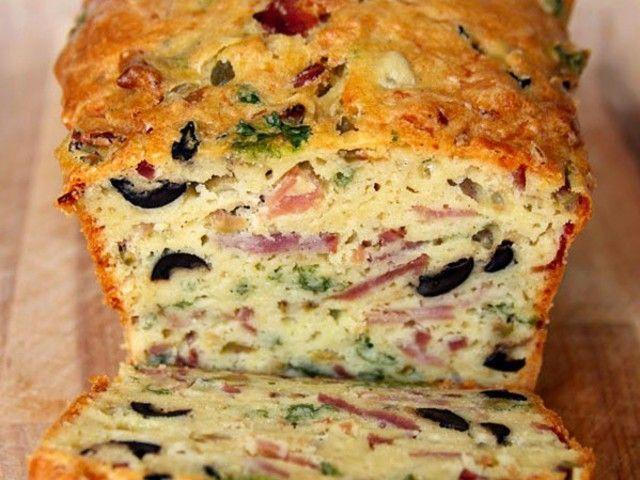 Olíva, bacon, sajt - és ez egy kenyér!