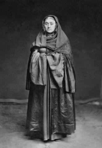 Lak khan's wife , Dagestan , Russia 1883 y.