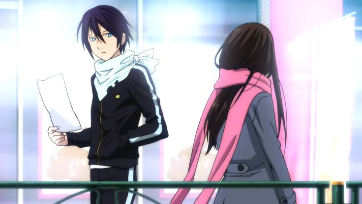 Yato and Hiyori meet for the first time..