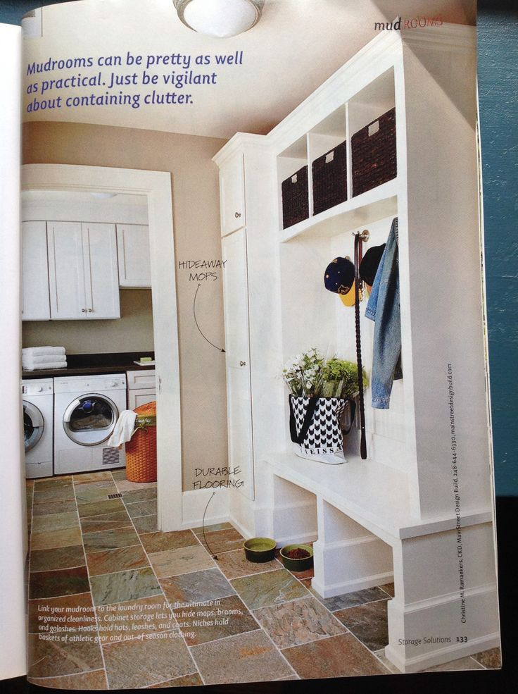 Mop Closet : Mop closet in mud room For the Home Pinterest