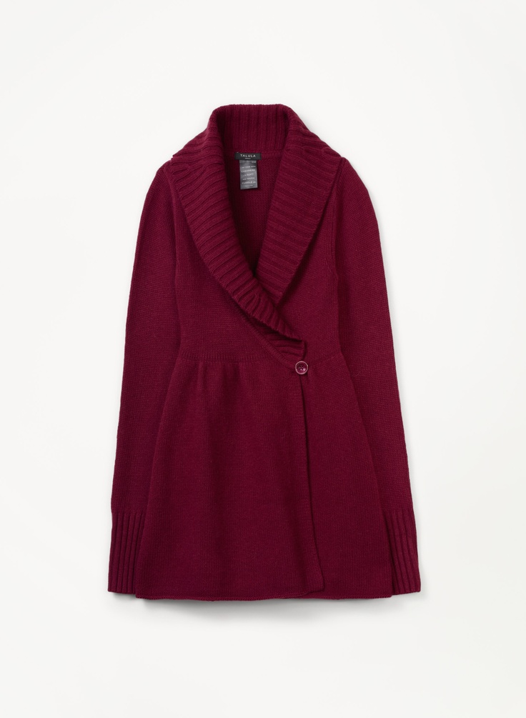 Talula Mulberry Sweater $88    http://aritzia.com/Talula-MULBERRY-SWEATER/22550,default,pd.html?dwvar_22550_color=6027