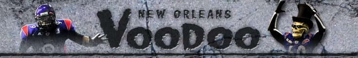 Arena League Football website for the New Orleans Voodoo.