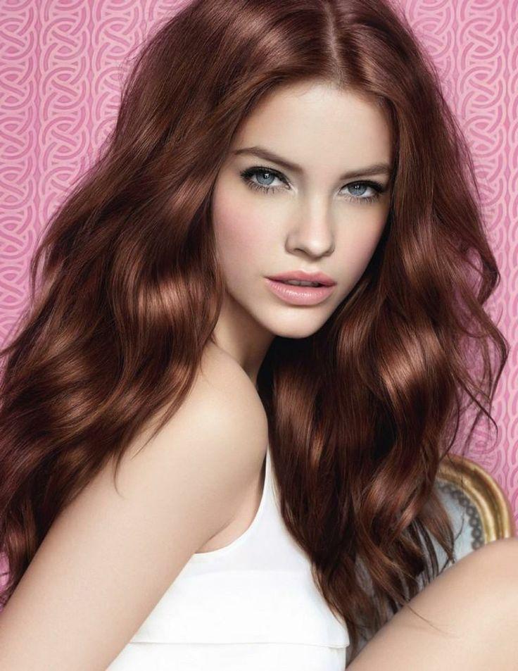 Farbe Mahagoni Haarfärben Mondkalender
