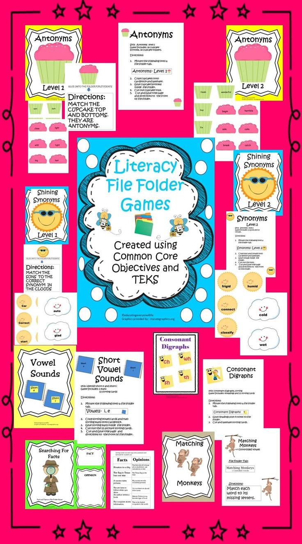 73 best File Folder Games images on Pinterest | File folder games ...