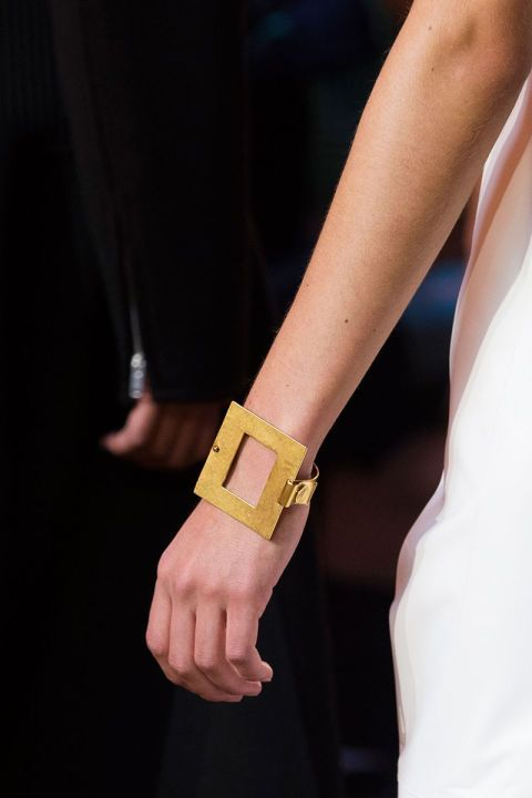spring jewelry trend 2016 Celine