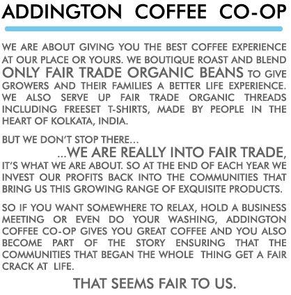 Addington Coffee Co-op   Who we are