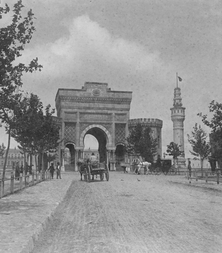 Seraskerat ve Beyazıt Kulesi 1900'ler