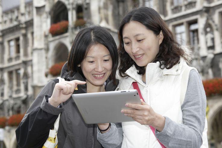 An den M-WLAN-Hotspots können Münchner und Touristen ohne Registrierung kostenlos im Internet surfen. Das und weitere Wifi-Hotspots...
