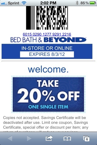 Bed Bath and Beyond CouponBed Bath And Beyond Coupon Promo Code Online Bed  Bath and Beyond 20 Off Bed Bath And Beyond Coupon Promo Code Online, ...