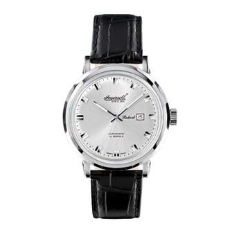 Relojes Elegantes Ingersoll  http://www.tutunca.es/reloj-ingersoll-robert-plata-piel-negro-automatico