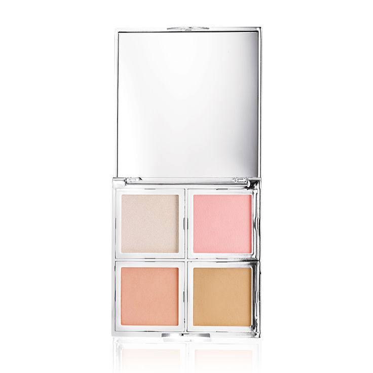 Beautifully bare natural glow face palette highlighter