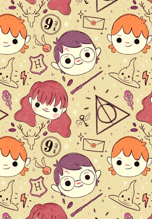 harry potter pattern!                                                                                                                                                     More