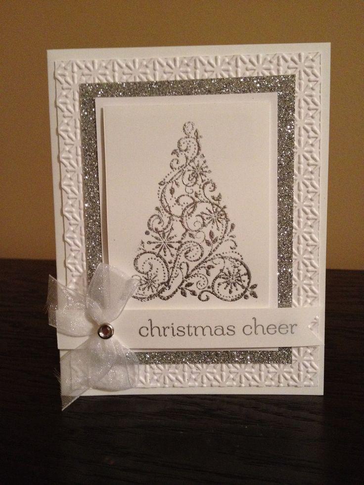 """""""Christmas Cheer"""" ~Handmade Christmas card"""