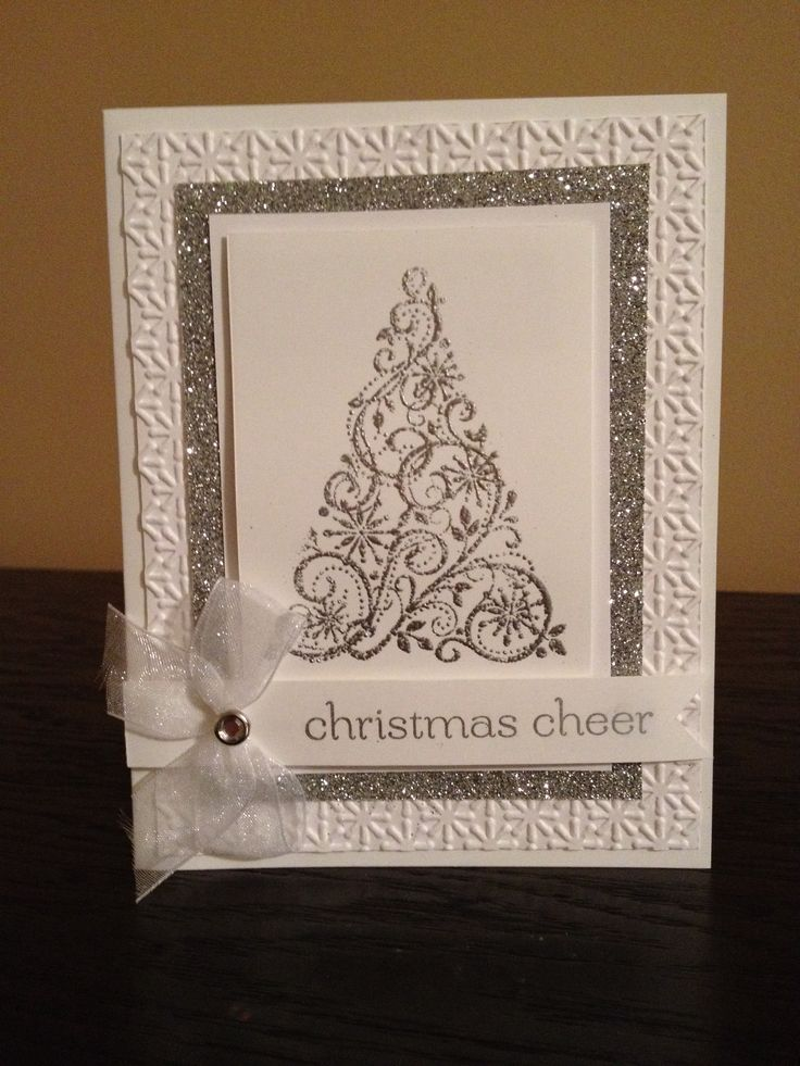 """Christmas Cheer"" ~Handmade Christmas card"