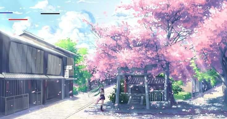 Kumpulan Ilmu Dan Pengetahuan Penting Anime Aesthetic Best Anime Live Wallpaper Gif New Tab Th In 2020 Anime Backgrounds Wallpapers Anime Scenery Anime Cherry Blossom