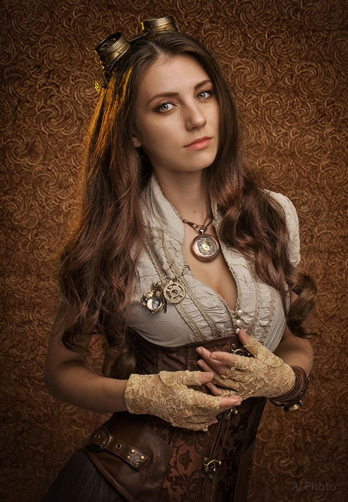 Steampunk. Alexandra by Allsteam on DeviantArt