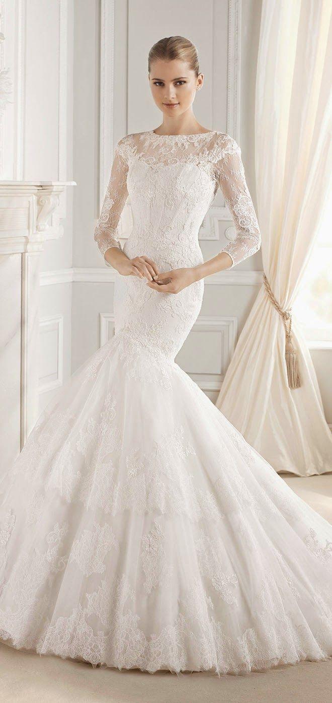 La Sposa Barcelona 2015 Bridal Collections - Belle The Magazine