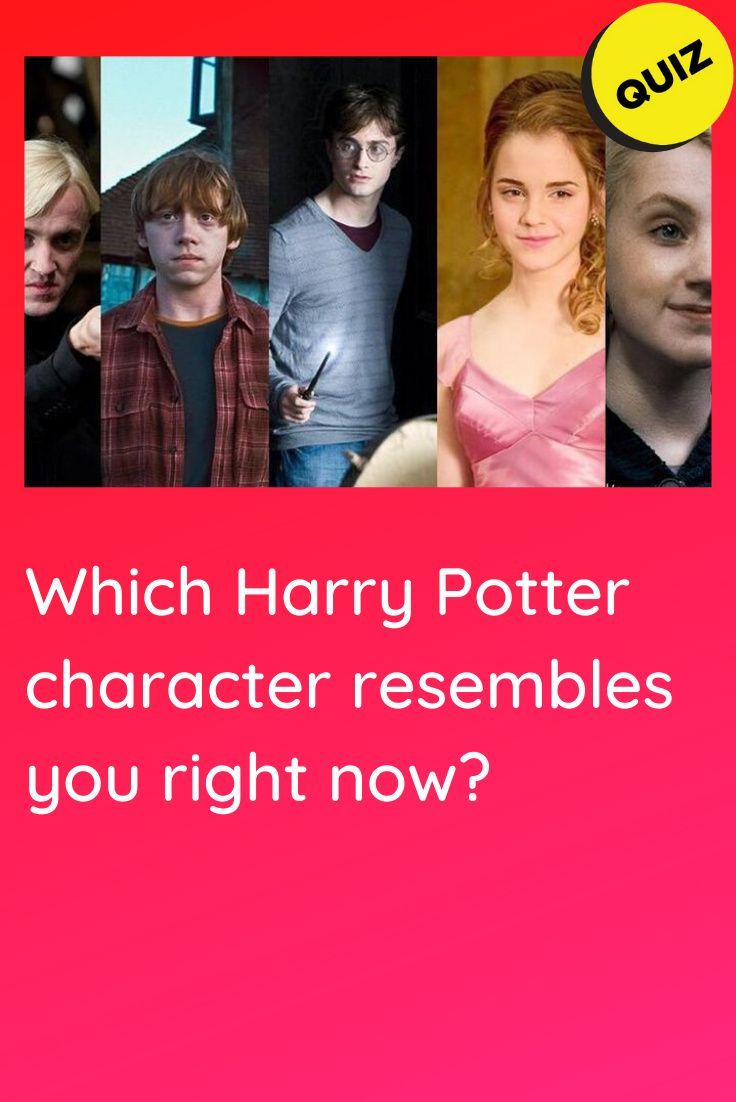 Personality Quiz Which Harry Potter Character Resembles You Right Now Harry Potter Characters Harry Potter Personality Quizzes Harry Potter Quiz