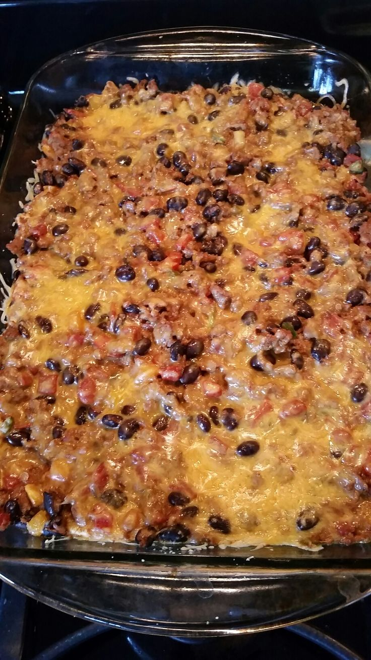 Mexican Lasagna & Pico! 21 Day fix! During my first round of Beachbody's 21 Day Fix program I fell in love with food again... you know, the non-processed food that has REAL flavor. This journey has been amazing. The workouts... well ...
