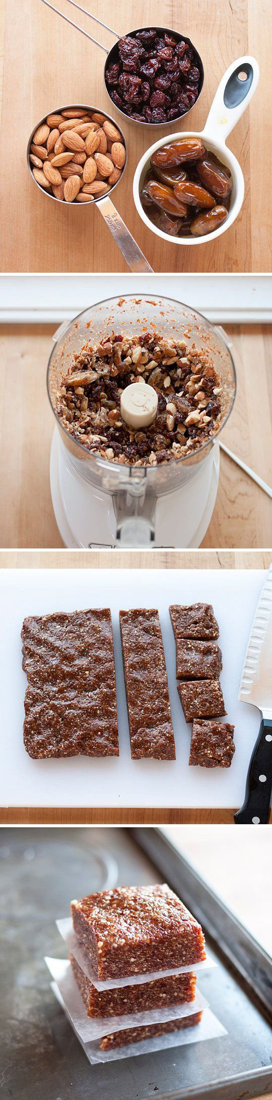 3 Ingredients Energy Bars
