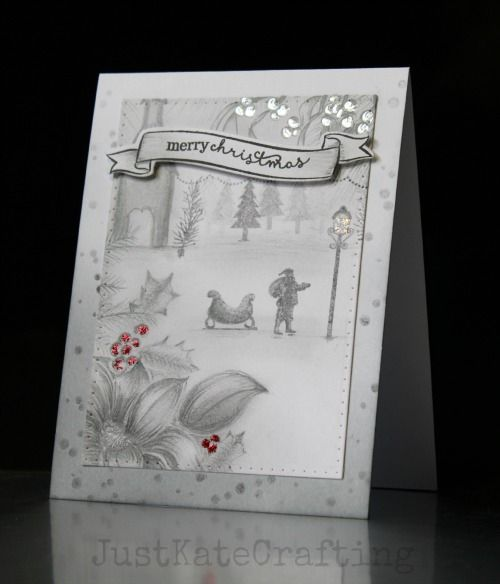 Just Kate crafting: Merry (Monochrome) Christmas