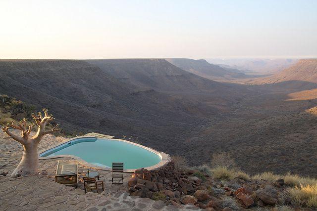 Namibia. Damaraland, Grootberg Lodge