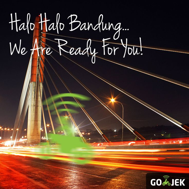 We are happy to announce that @gojekindonesia is now active in Bandung for #transport #courier #shopping... So everyone and anyone in Bandung or knowing peeps that live there, please spread the word... One love! #gojek #gojekinaja #gofood #gojek4life