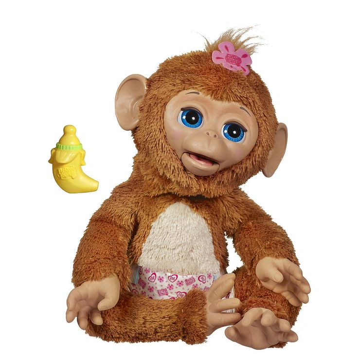 """Furreal Friends My Giggly Monkey - Cuddles - Hasbro - Toys """"R"""" Us"""