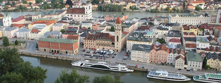 Altstadt Blick v. Oberhaus